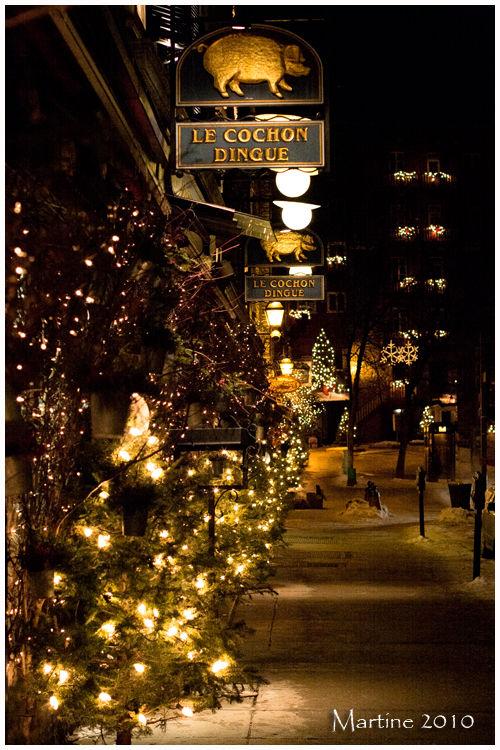 Street of Québec City - Rue de Québec