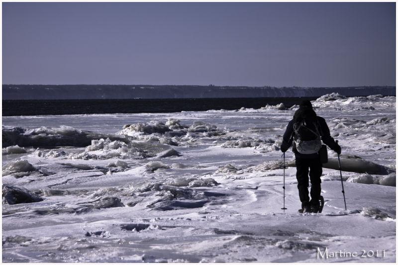 Walk on the ices - Marcher sur les glaces
