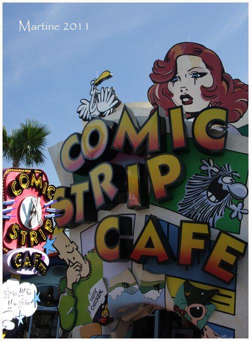 Comic Strip Cafe