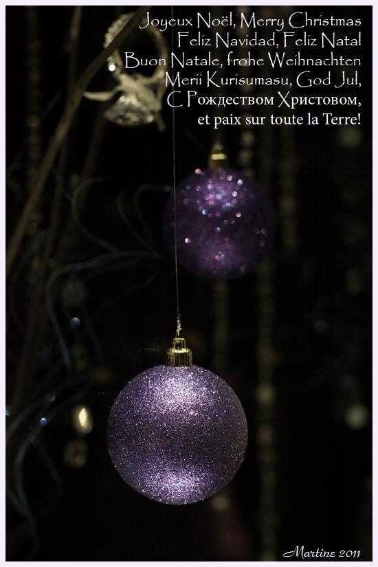 Joyeux Noël - Merrry Christmas