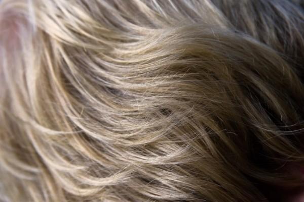 My friends hair