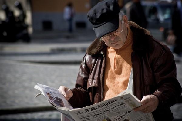 An elderly gentleman