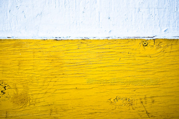 yellow under white
