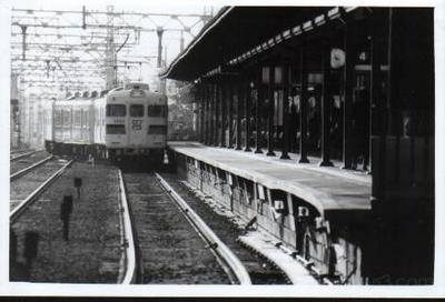 Train coming into station - Kobe