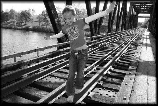 Rail Walking