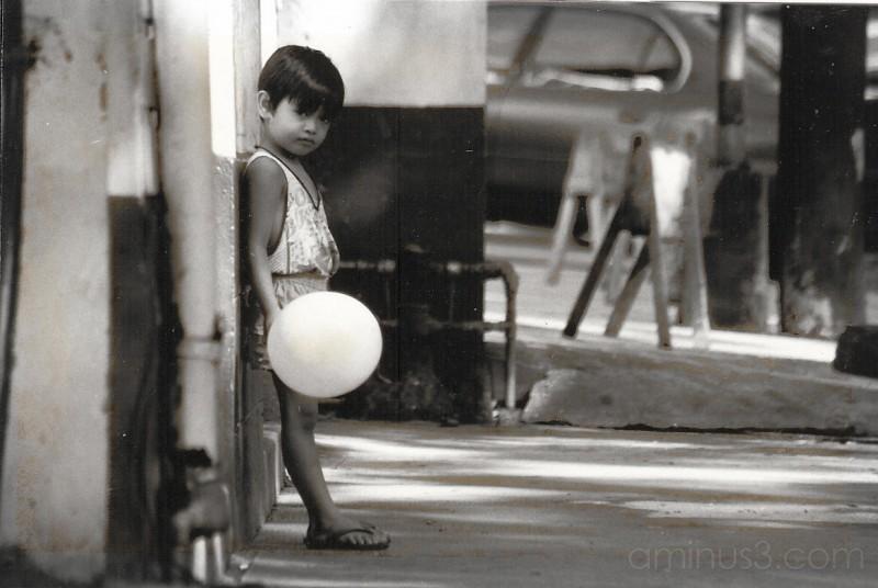 A boy in Manila