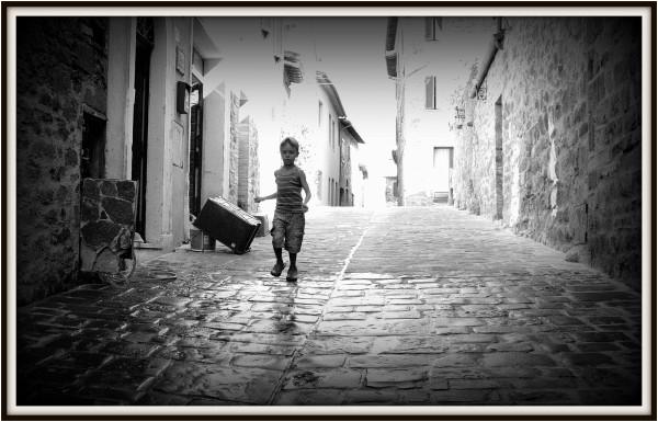 Street Scene - Acquapendente, Italy