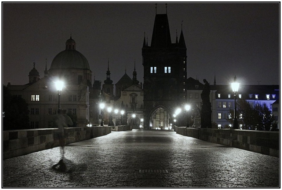 The Charles Bridge - Prague - 5:45am
