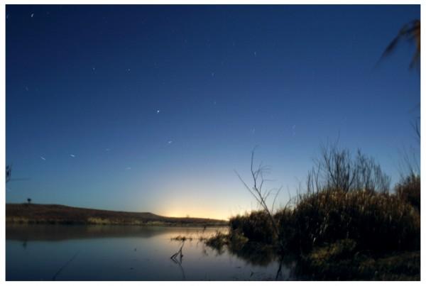 Lake and Stars