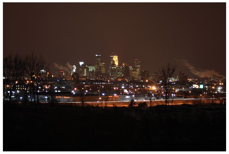 Minneapolis By Night