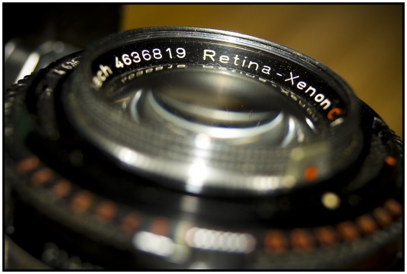Retina IIIc Kodak film camera
