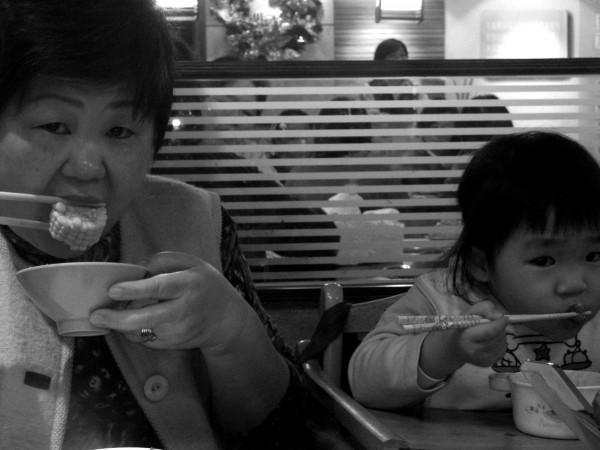 like grandma like granddaughter