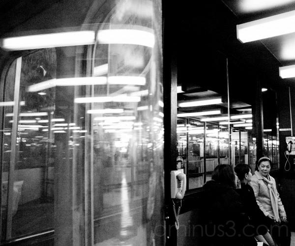 Funny Glass (NJ Transit 3 of 4)