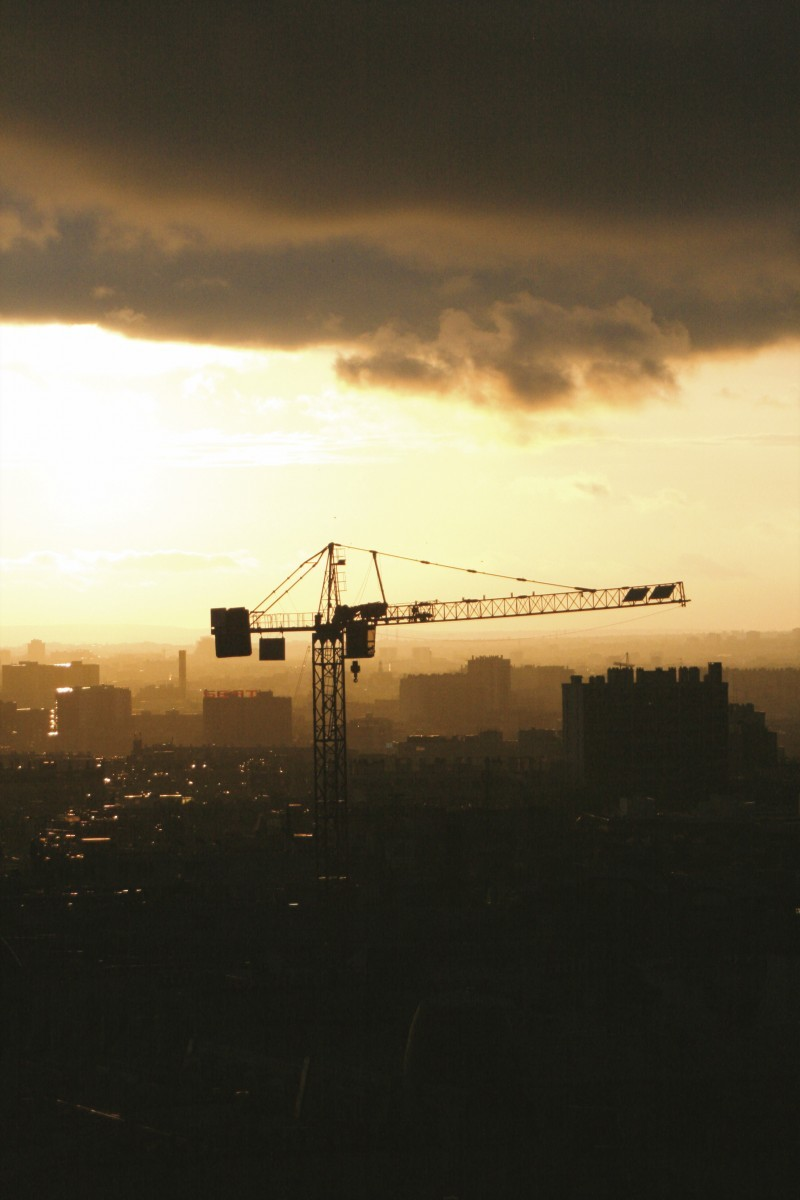 Crane in Paris