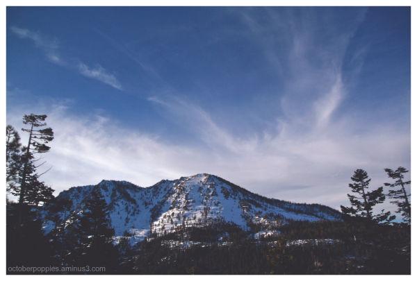 Tahoe peek
