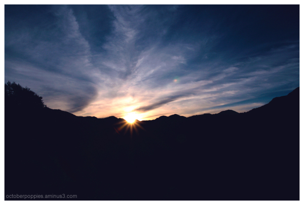 Sunrise, sunrise