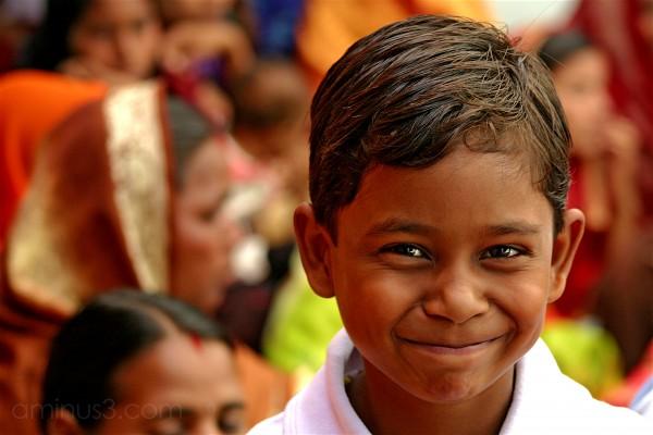 Indian Boy Smiling