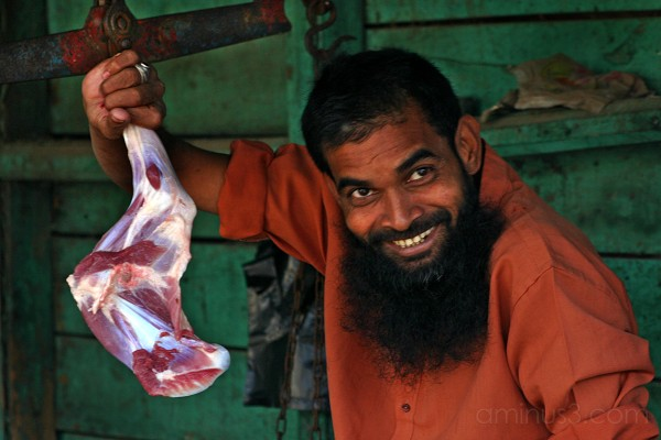 India Butcher Meat Market