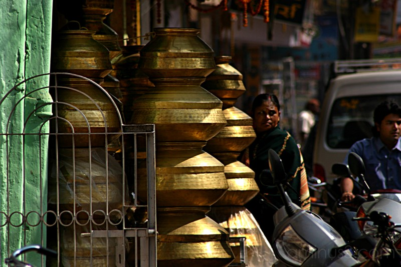 India Street Scene Deux
