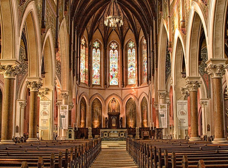 Inside St. Peters