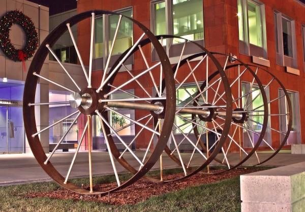 Wheels At Night