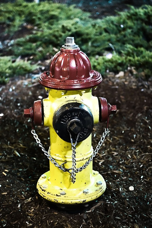 Fire Hydrant Done At Night