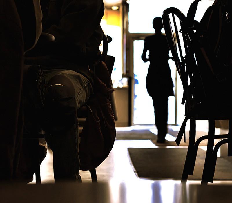 Coffee Table High Shot