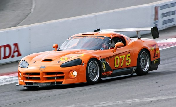 Orange Dodge Viper