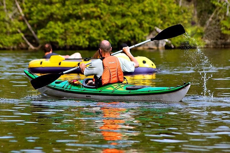 Kayaking the Afternoon Away