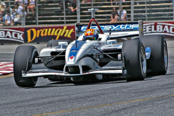 Oriol Servia at Toronto Grand Prix