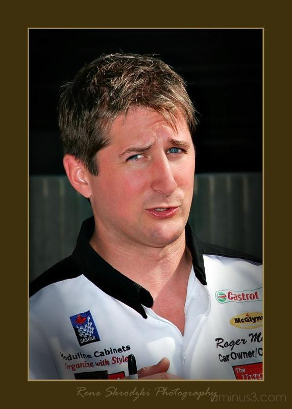 Racing Driver Portrait