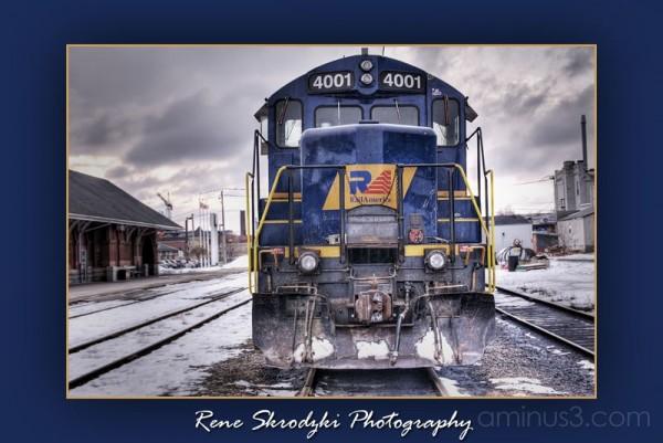 Blue Train HDRi
