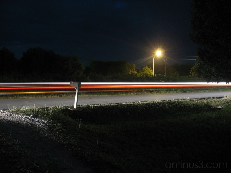 Long term exposure, 8 seconds