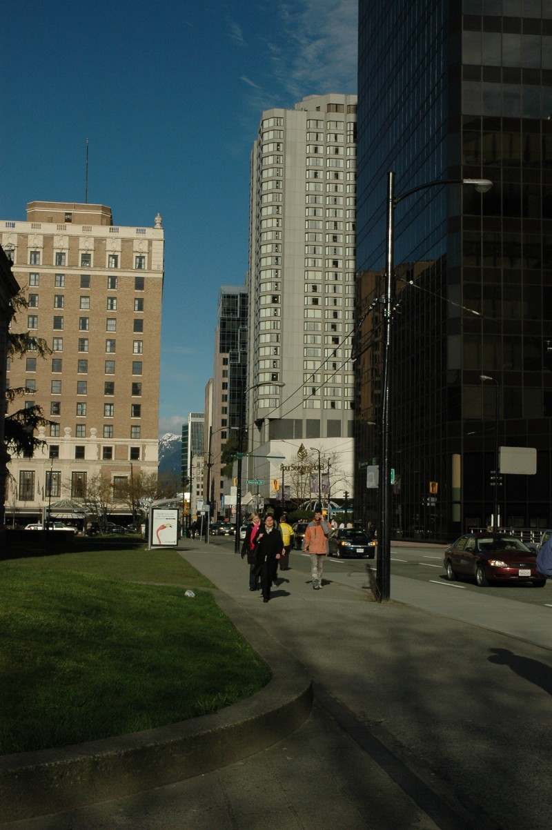 Downtown Vancouver -- buildings 1