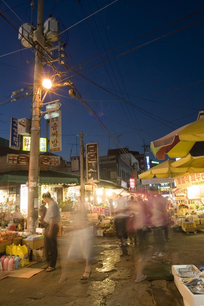 Nakeseongdae street market