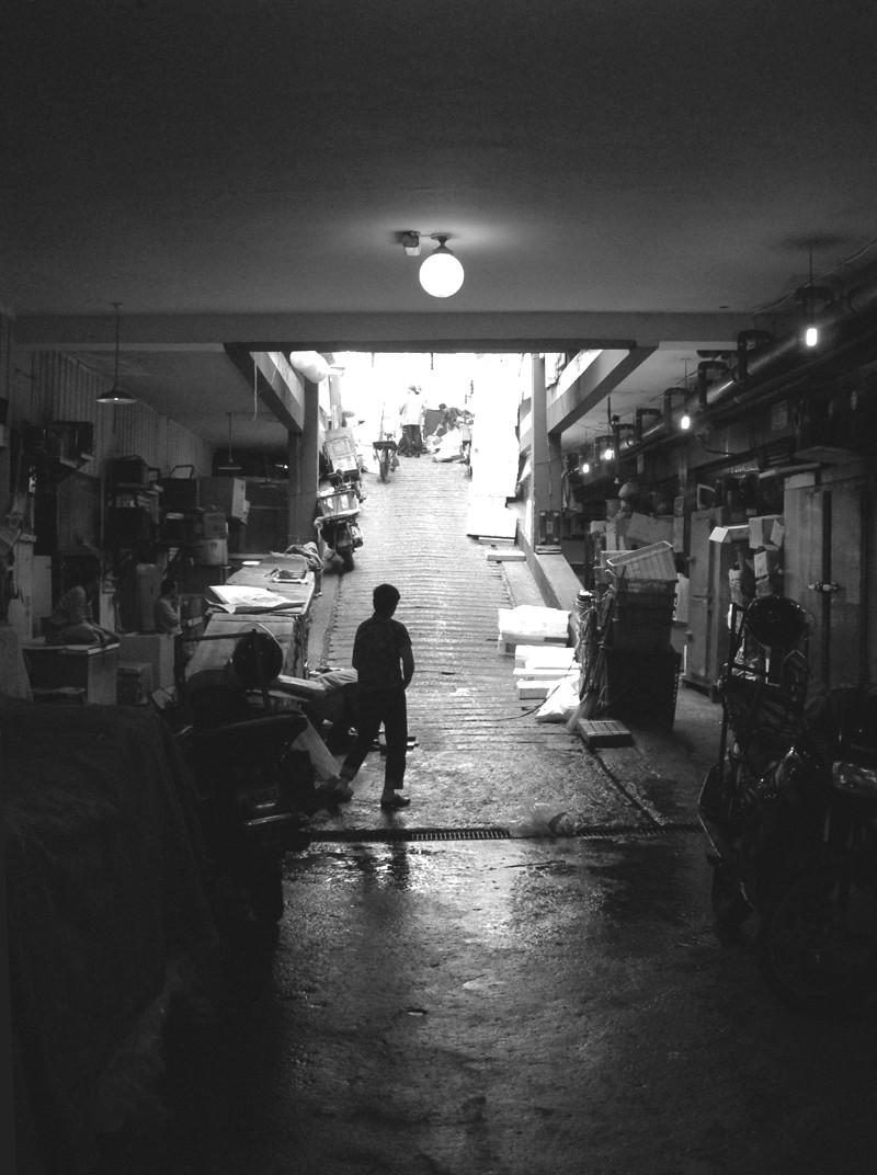 DongDaeMun Market basement