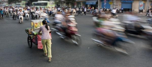 Ho Chi Minh Street Scene, Vietnam