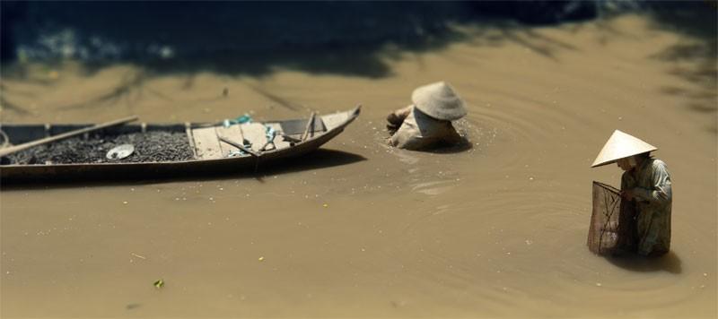 near Tiger Island, Mekong Delta,  Vietnam
