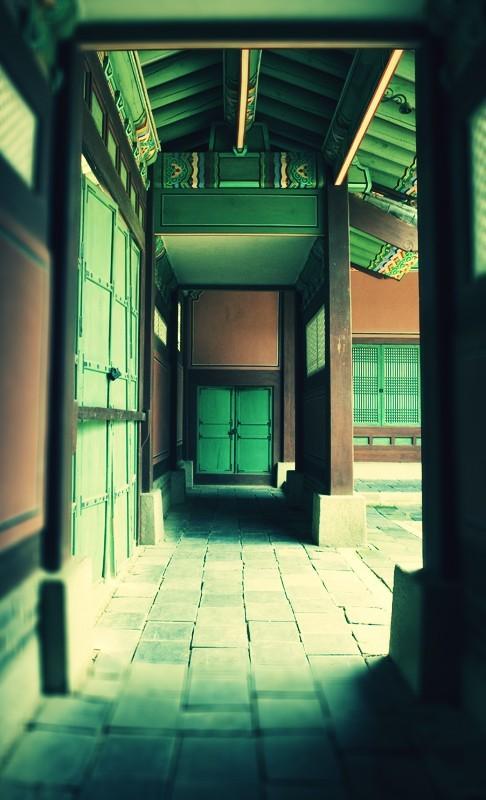 The hallway