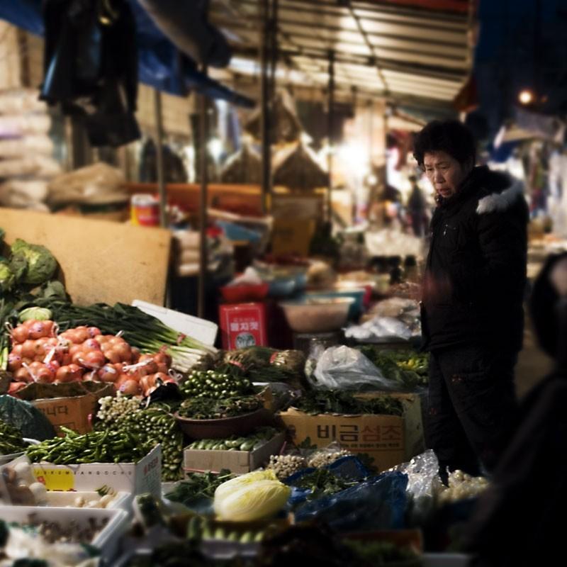 Nakseongdae Market, Seoul, Korea