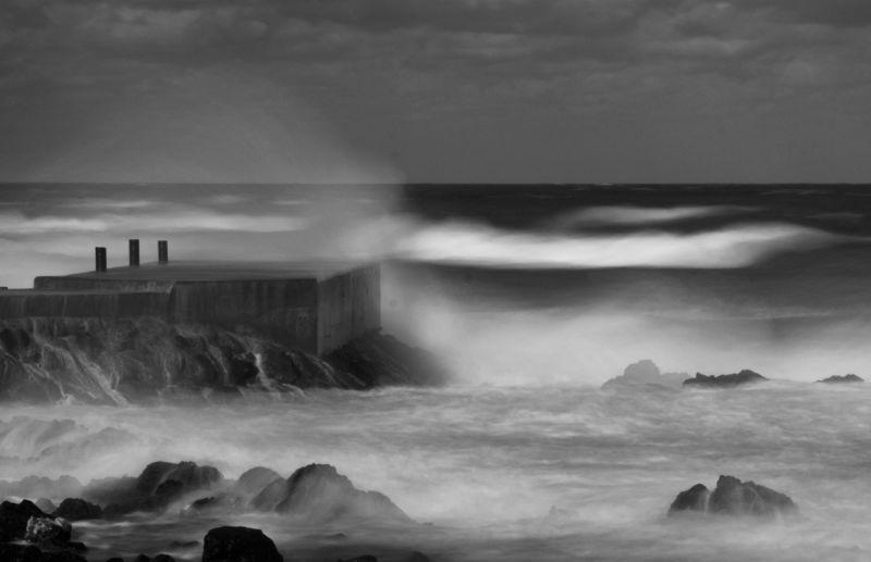 Wave , Jeju Island, Korea