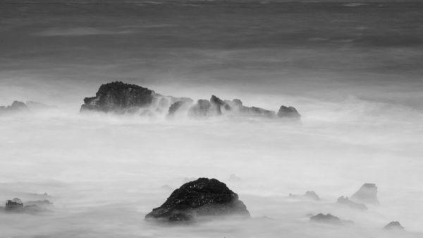 Wave Abstraction, Jeju Island, Korea
