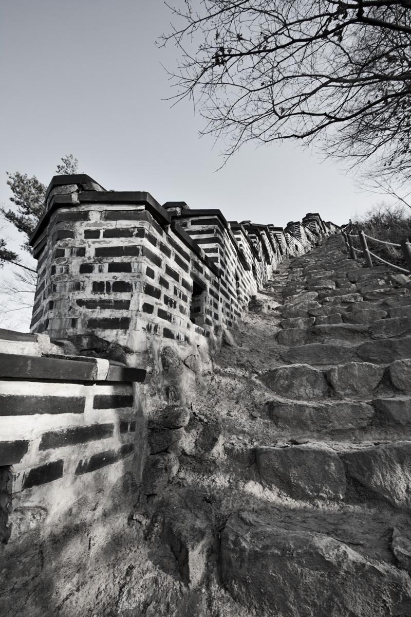Namhansanseong wall, Seoul Korea