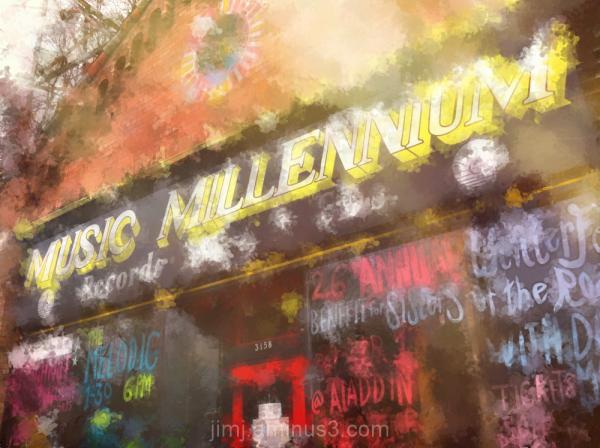 Music Millennium Store Front