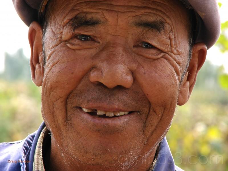 Farmer - Inner Mongolia - 2006