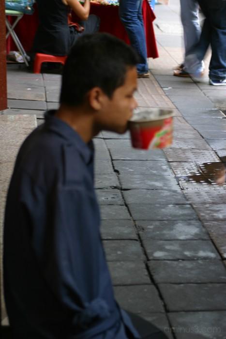 Street begger - Bankok, Thailand - 2006