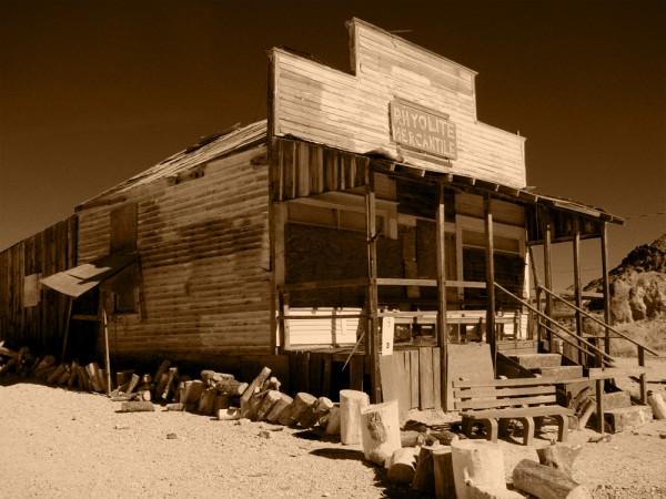 Ghost Town - Rhyolite, Nevada - 2007