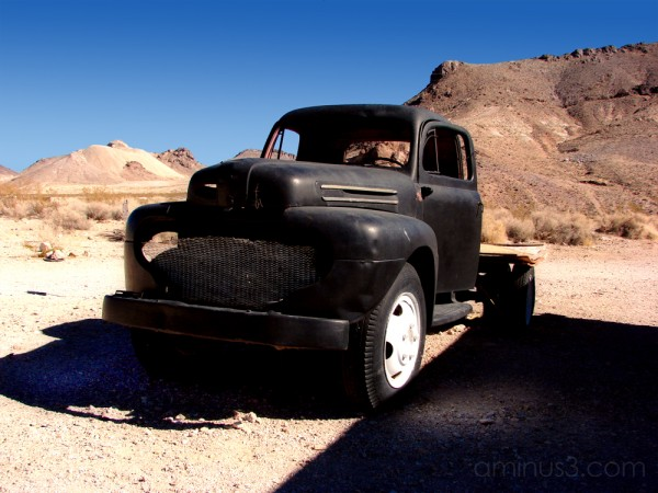 Another Ghost of Rhyolite, Nevada - 2007
