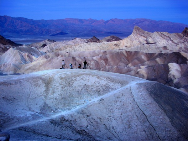 Photographers at Zabriskie Point - 2007