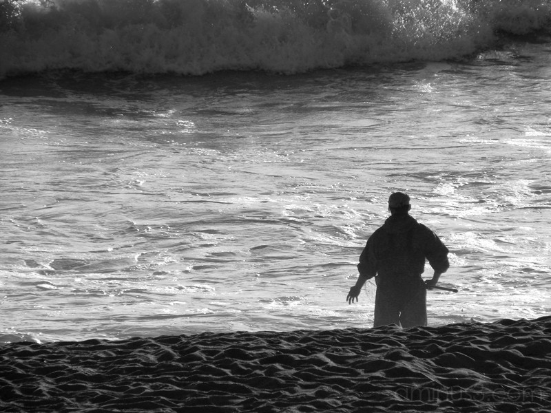 Half Moon Bay - Fisherman